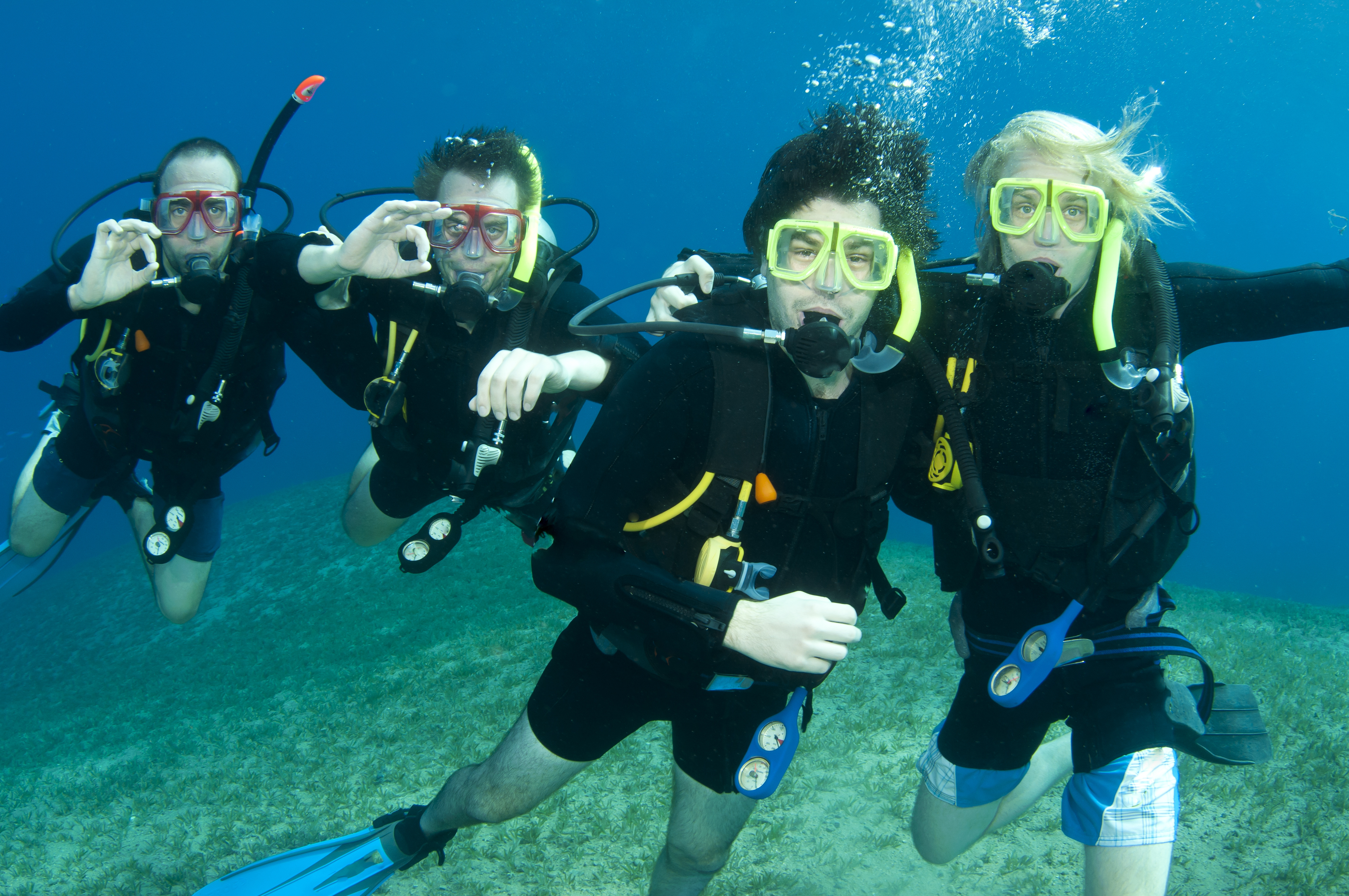 Ten Rules For Safe Scuba Diving Scuba Diver Life