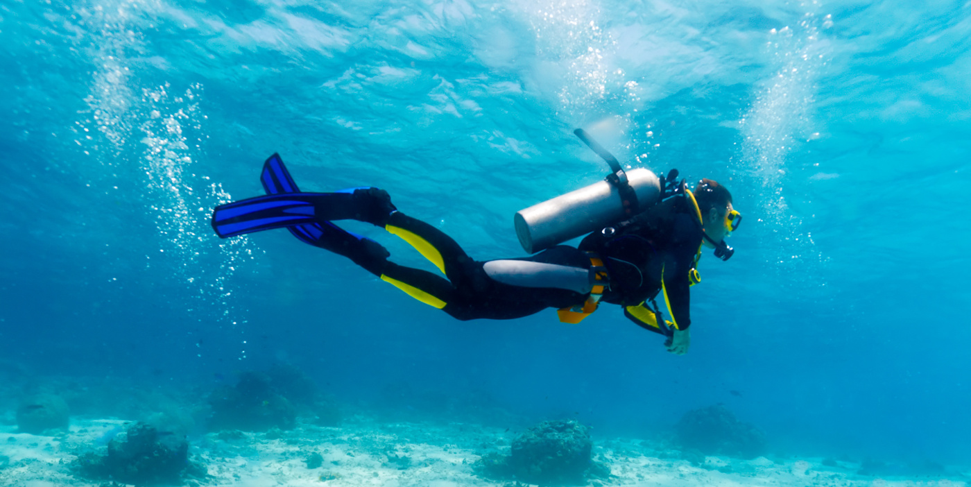 Training Tips: Trim While Diving • Scuba Diver Life