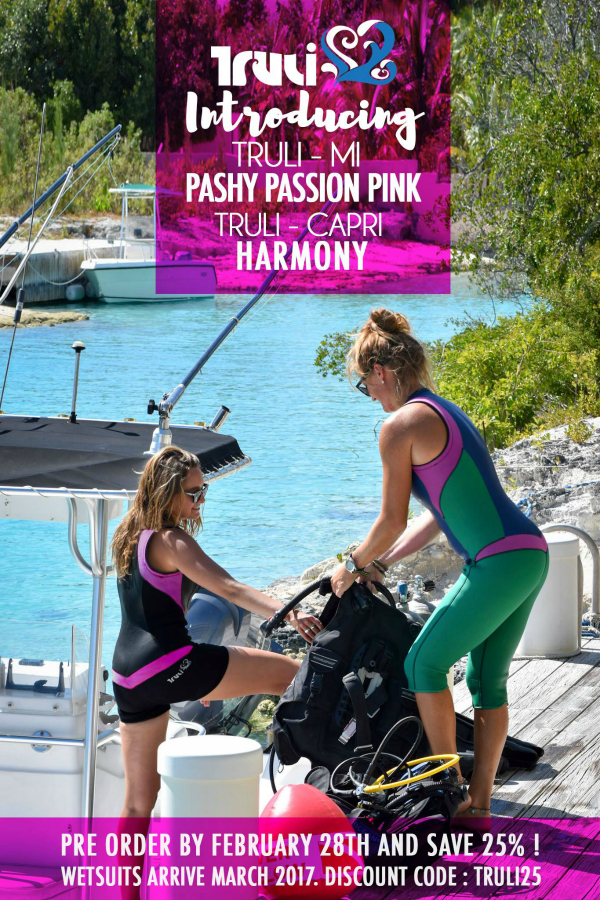 Truli Wetsuits for Women Reveals its Most Colorful Wetsuit Yet ... 6a3aacabc